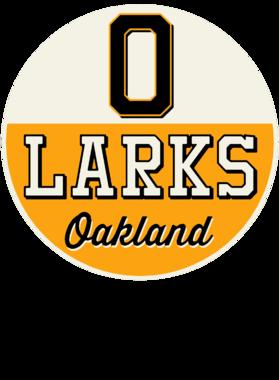 Oakland Larks Negro Baseball Team Retro T-Shirt