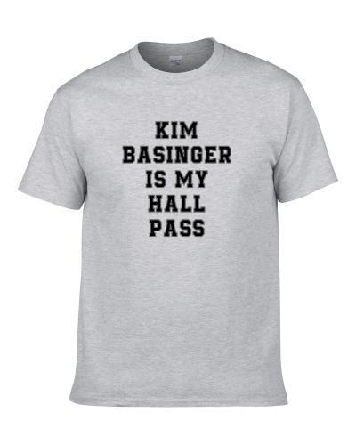 Kim Basinger Is My Hall Pass Fan Funny Relationship tshirt for men