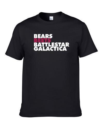 Bears Beets Battlestar Galactica Dwight Schrute The Office Fan TEE