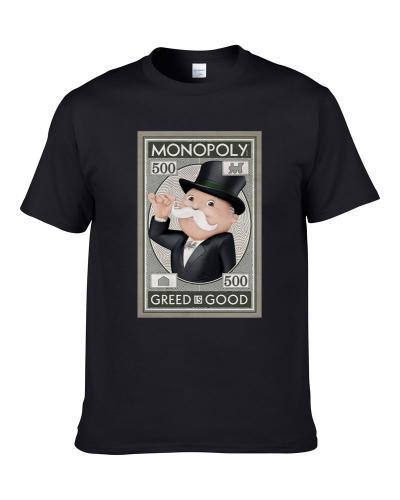 Monopoly Best Board Game Of All Time Players Retro Poster Shirt