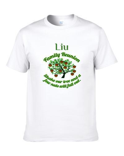 Liu Family Reunion Shake Our Tree S-3XL Shirt