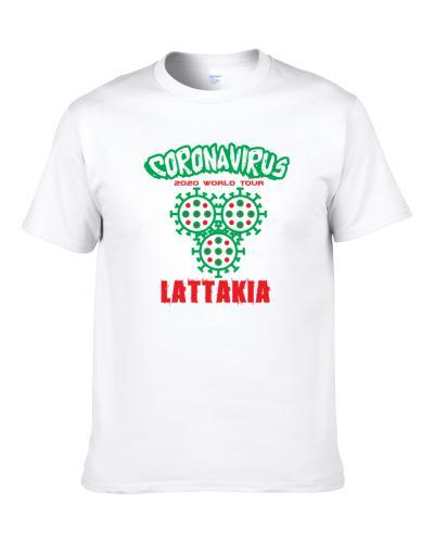 Coronavirus 2020 World Tour Lattakia S-3XL Shirt