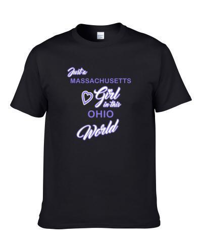 Massachusetts Girl In This Ohio World Men T Shirt