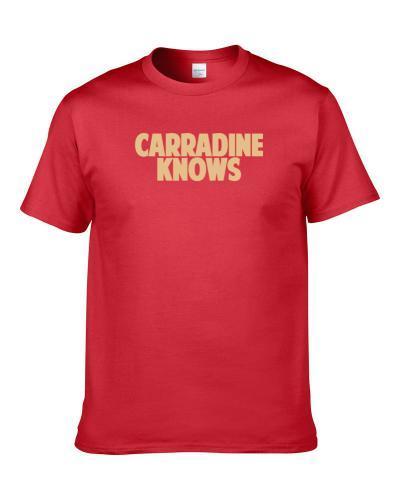 Tank Carradine Knows San Francisco Football Player Sports Fan Men T Shirt