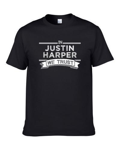In Justin Harper We Trust Brooklyn Basketball Players Cool Sports Fan tshirt for men