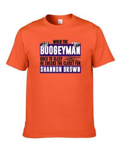 Shannon Brown Boogeyman Checks Closet For Phoenix Basketball Shirt