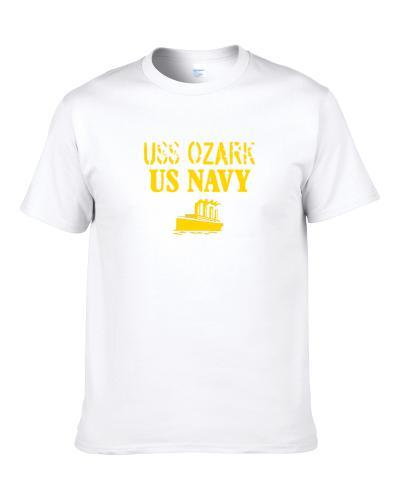 Uss Ozark Us Navy Ship Crew T Shirt