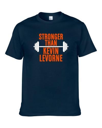 Stronger Than Kevin Levorne Celebrity Body Builder Cool Wokout T-Shirt
