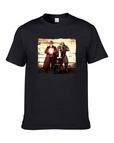 Fullmetal Alchemist Live Action Super Anime Fan Gift T Shirt
