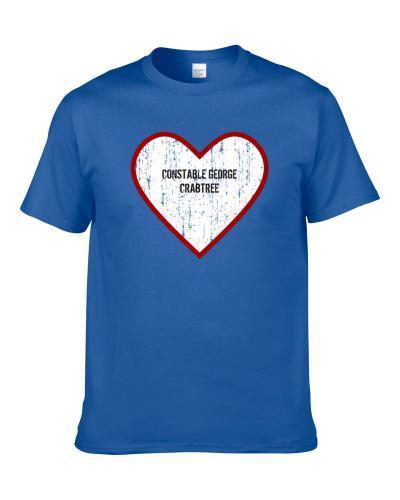 Constable George Crabtree Murdoch Mysteries Love Tv Character Men T Shirt