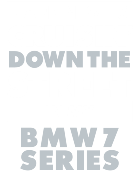 Happiness Is Cruisin Down The Street In My Bmw 7 Series Car T Shirt