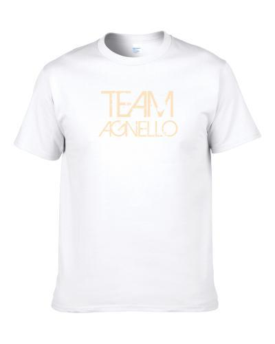 Team Sports Last First Name Agnello S-3XL Shirt