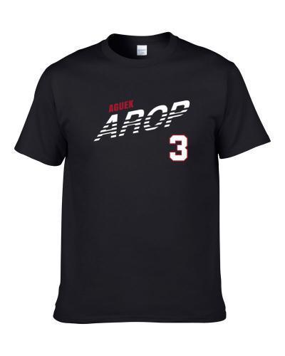 Aguek Arop 3 Favorite Player San Diego State College Basketball Fan Apron TEE