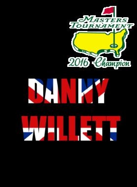 The Masters 2016 Champion Danny Willlett Fan S-3XL Shirt