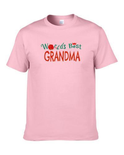 World's Best Grandma Funny Paper Towns Popular Movie Cool S-3XL Shirt