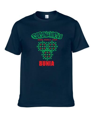 Coronavirus 2020 World Tour Bunia S-3XL Shirt