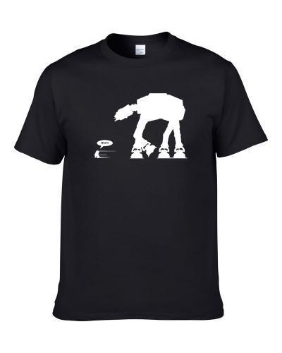 Run R2 Run Funny Star Wars tshirt for men