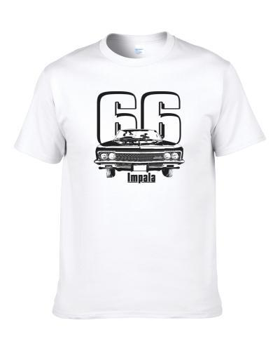 1966 Impala Grill View With Year And Model Name White Bbq Apron S-3XL Shirt