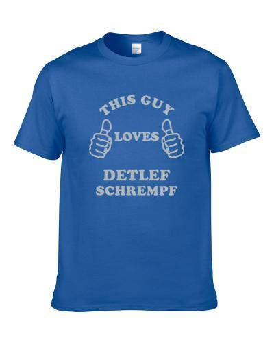 Detlef Schrempf This Guy Loves Dallas Texas Sports Basketball TEE