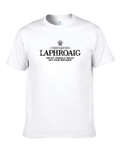 Laphroaig Scotch Whiskey Gifts For Alcohol Drinkers Funny S-3XL Shirt