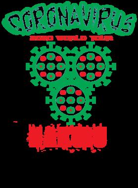 Coronavirus 2020 World Tour Nakuru S-3XL Shirt