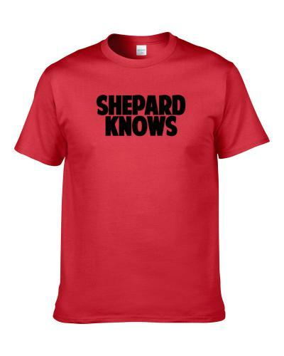 Russell Shepard Knows Tampa Bay Football Player Sports Fan S-3XL Shirt
