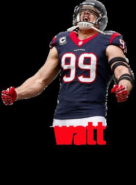 J.j Watt Houston Texans Football Fan Merchandise S-3XL Shirt