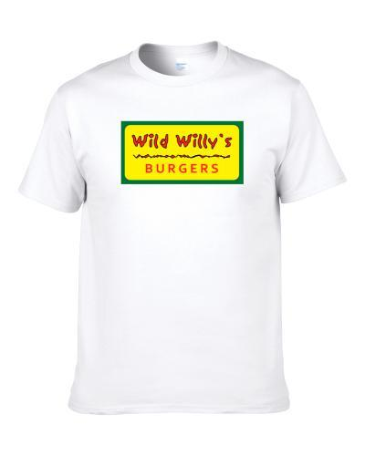 Wild Willy's Burgers New Hampshire's Best Burger Joint Foodie Shirt