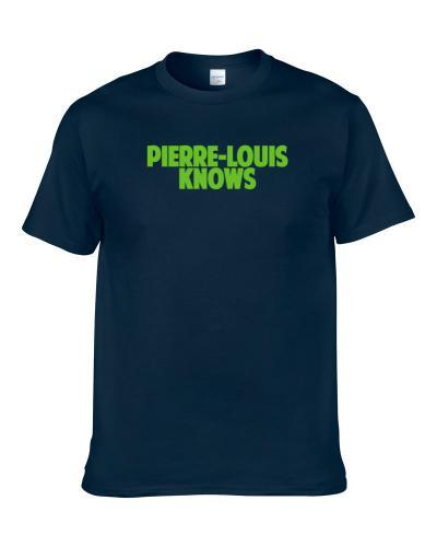 Kevin Pierre-Louis Knows Seattle Football Player Sports Fan S-3XL Shirt