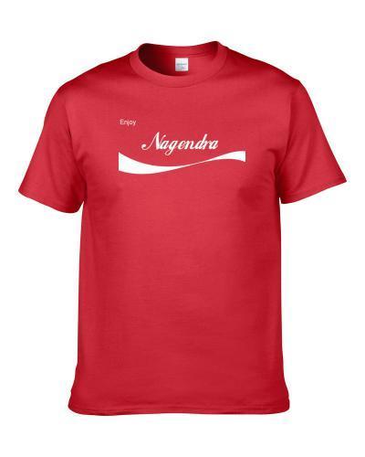 Enjoy Cola Parody tshirt for men