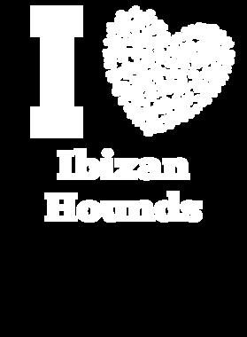 I Love Ibizan Hounds St. Patrick's Day Pet Dog Lover Clover S-3XL Shirt