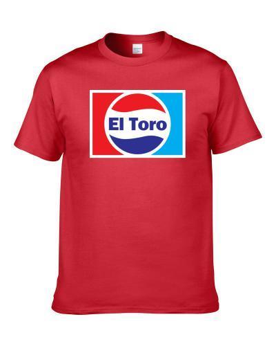 El Toro Beer Lover Funny Cola Parody Drinking Gift T Shirt