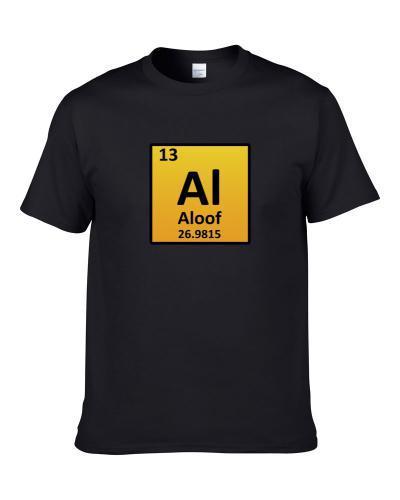 Aloof Periodic Table Men T Shirt