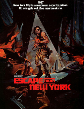 Escape From New York Retro Action Movie Fan S-3XL Shirt