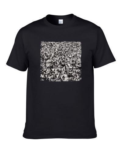 George Michael Listen Without Prejudice Worn Look Tribute Men T Shirt