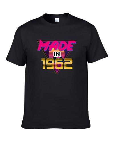 Made In 1962 Birthday Men T Shirt
