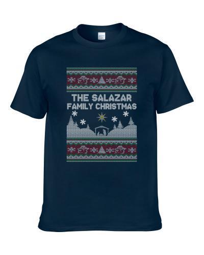 Salazar Family Ugly Christmas Sweater Shirt