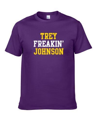 Trey Johnson Freakin Favorite Los Angeles Basketball Player Fan Shirt