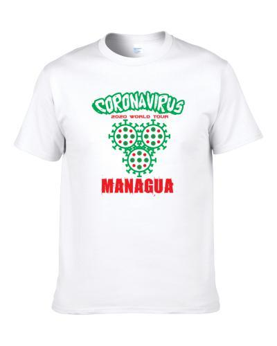 Coronavirus 2020 World Tour Managua S-3XL Shirt