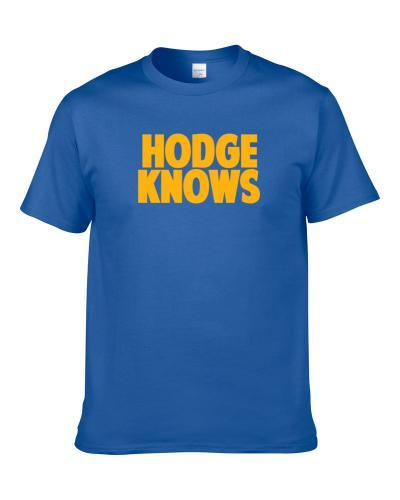 Julius Hodge Knows Denver Basketball Player Funny Sports Fan tshirt for men