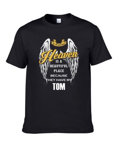Tom Memorial Memorandum Tribute Men T Shirt