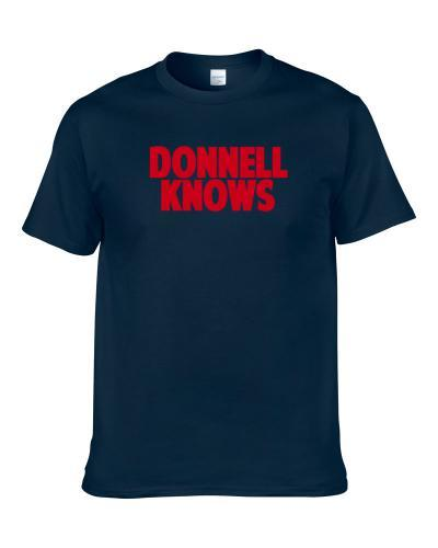 Larry Donnell Knows New York Football Player Sports Fan S-3XL Shirt