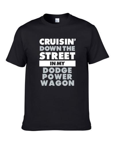 Cruisin Down The Street Dodge Power Wagon Straight Outta Compton Car Hooded Pullover Shirt For Men