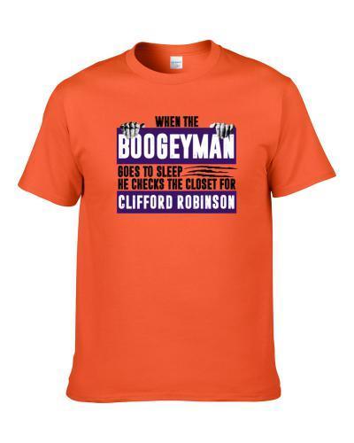 Clifford Robinson Boogeyman Checks Closet For Phoenix Basketball T-Shirt