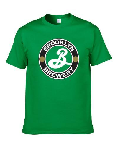 Brooklyn Brewery Craft Beer Lover Father's Day Drinking Gift Shirt For Men