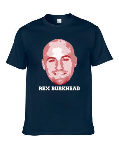 Rex Burkhead Face Big Head New England Football Player Fan TEE