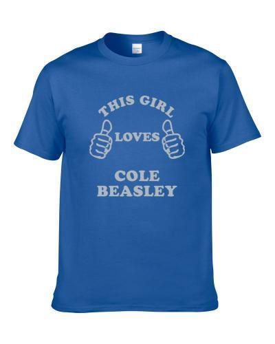 Cole Beasley This Girl Loves Dallas Texas Sports Football Men T Shirt