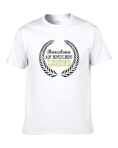 Barcelona An Endless Legend Trending Last Name Men T Shirt