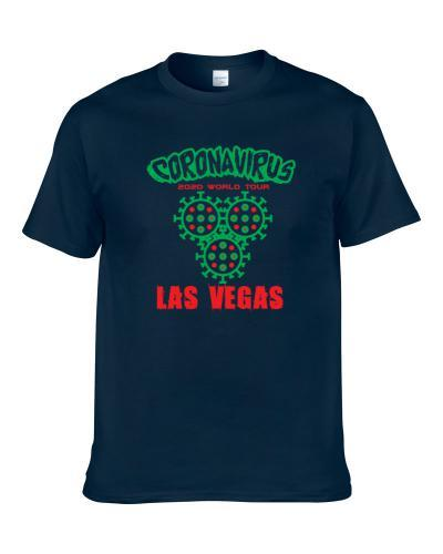 Coronavirus 2020 World Tour Las Vegas S-3XL Shirt