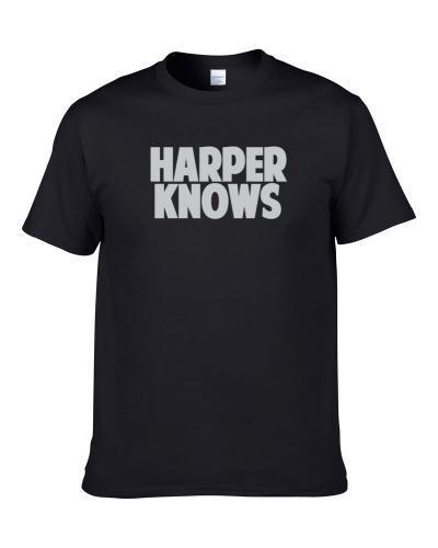 Josh Harper Knows Oakland Football Player Sports Fan S-3XL Shirt